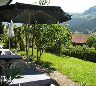 Terrasse mit Gartenanlage Hotel Garni Malerwinkl