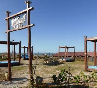 Heruntergekommen Chillout-Zone TUI MAGIC LIFE Penelope Beach