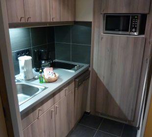 Küchenzeile Adagio City Aparthotel Berlin Kurfürstendamm