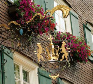 Zunftschild Romantik Hotel Die Krone von Lech