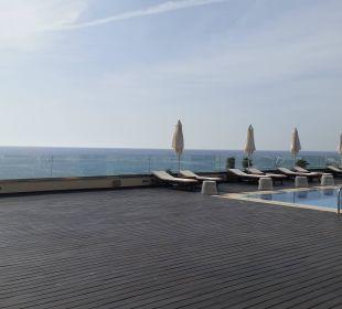 Von der Terrasse vor dem Restaurant Boutique 5 Hotel & Spa