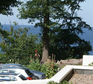 Mein Blick vom Balkon direkt auf die Ostsee Inselhotel Rügen B&B