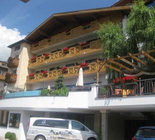 Ein Blick von draussen Hotel Cervosa