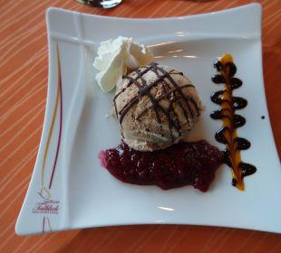 Lecker Eis-Dessert Landhotel Talblick