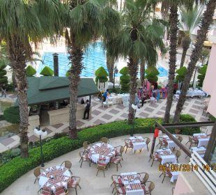 Kleiner Teil des Außenbereichs Hotel Aqua