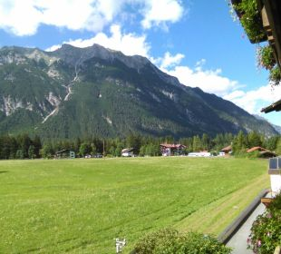 Ausblick Alpenhotel Karwendel