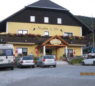 Hoteleingang Hotel Lanz