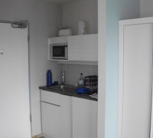 Kleine Küche im-jaich boardinghouse bremerhaven