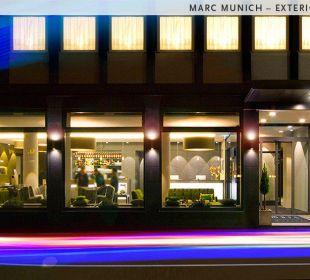 Außenansicht Hotel marc münchen