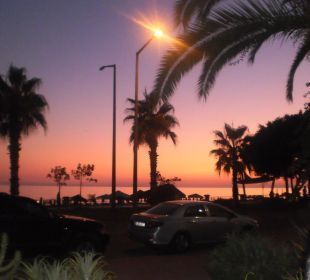 Sonnenuntergang Hotel Kleopatra Celine