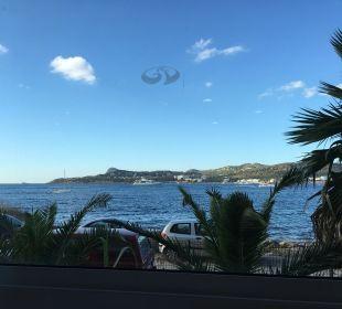 Meerblick vom Speisesaal Fiesta Hotel Milord