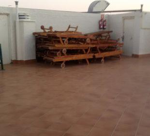 Dachterrasse FKK Hotel Miraflor Suites