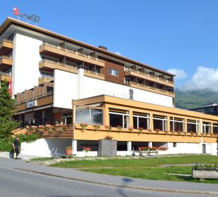 Hotel von Südosten Sunstar Alpine Hotel Lenzerheide