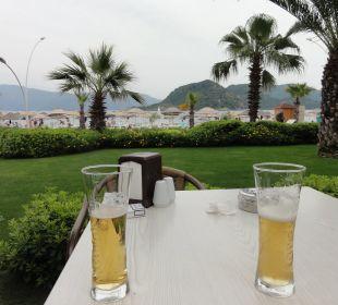 Von der Außenbar Hotel Aqua