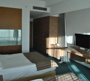 Blick vom Balkon Hotel Concorde De Luxe Resort