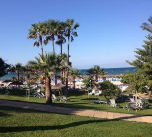 Blick von unserer Terrasse (direkter Meerblick/EG) Aparthotel Esperanza Park