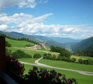 Morgen auf dem Balkon Hotel Lärchenhof