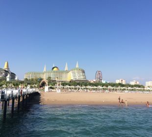 Blick vom Steg Hotel Delphin Imperial