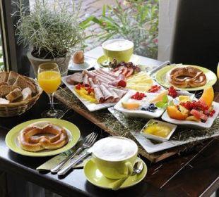 Frühstück in der Allgäuer Kräuteralm Appartementhotel Allgäuer Kräuteralm