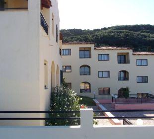 Teil vom Hauptgebäude Hotel Corfu Pelagos