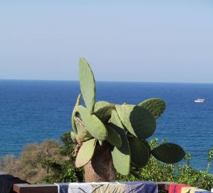 Ausblick  Zimmer mit Meerblick Hotel King Minos Palace
