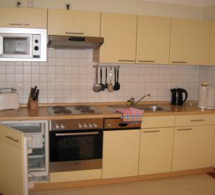 Küchenzeile Ferienpark Bodetal