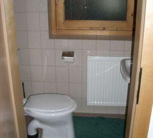 WC seperat FeWo 2-3 Personen Ferienwohnungen Annelies
