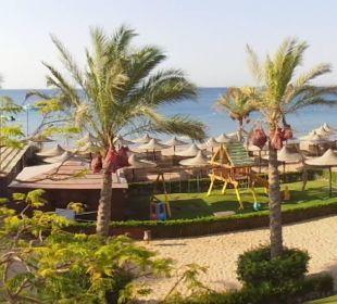 Panoramablick vom Balkon Zimmer 1228 Jaz Dahabeya
