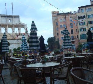Ausblick vom Frühstücksbereich Hotel Colosseo Europa-Park