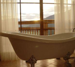 Blick aus der Badewanne Alpin Panorama Hotel Hubertus