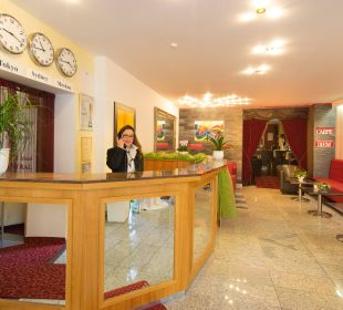 Lobby / Empfang Hotel Central Vital