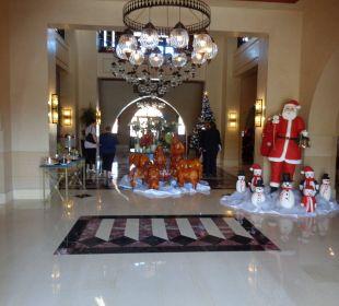 Lobby vor Weihnachten TUI SENSIMAR Makadi Hotel