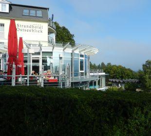 Terrassenblick Strandhotel Ostseeblick