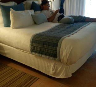 Kingsize Bett  Dreams La Romana Resort & Spa