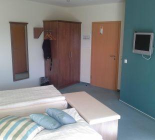 Das Zimmer im Neubau