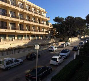 Ausblick von Zimmer 118 Hotel & Spa S'Entrador Playa
