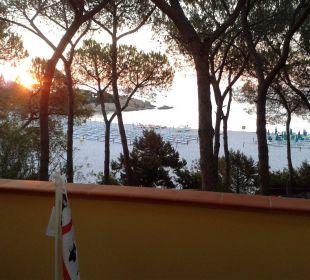 Sonnenaufgang in Cals Liberotto Sardafit Ferienhaus Budoni