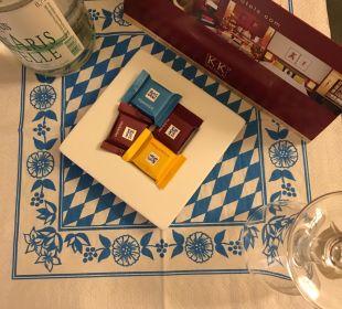Kleines Geschenk K+K Hotel am Harras