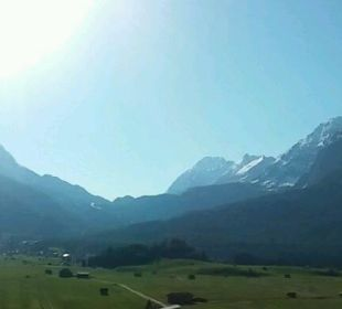 Panorama 10.05.2016 mit Zugspitze Hotel Post Lermoos