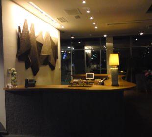 Rezeption Hotel Bellevue