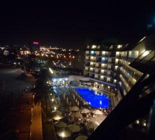 Blick aus dem 8. OG Hotel Dunas Don Gregory