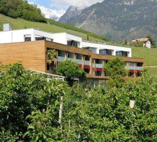 Aussenansicht im Grünen Hotel Residenz Pazeider