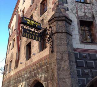 Hotel Eingang  Best Western Plus Hotel  Goldener Adler