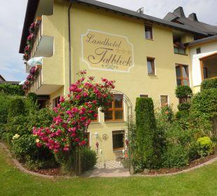 Hotel von der Gartenseite Landhotel Talblick