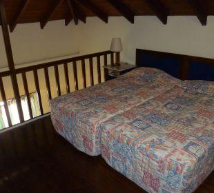 Doppelbett oben Hotel Kalidon