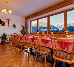 Speisesaal Alpengasthof Köfels