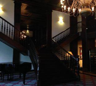 Toller Eingangsbereich Steigenberger Hotel Thüringer Hof
