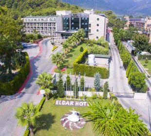 Main entrance Eldar Resort