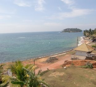 Blick vom Balkon aufs Meer Bochum Lanka Resort
