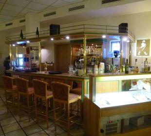 Bar gleichzeitig Frühstücksraum Comfort Hotel Weißensee